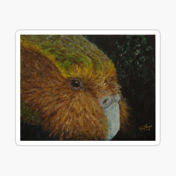 Kakapo (Strigops habroptilus) Sticker