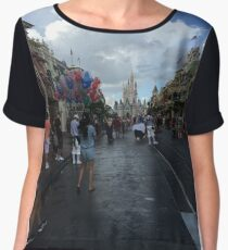Magic Kingdom Chiffon Top