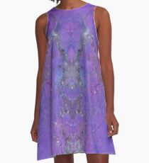 Purple People Eaters A-Line Dress