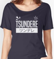 Tsundere Women's Relaxed Fit T-Shirt