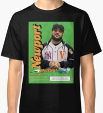 A$AP Yams Newport Cigarette Ad Classic T-Shirt