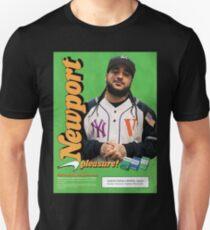 A$AP Yams Newport Cigarette Ad Unisex T-Shirt