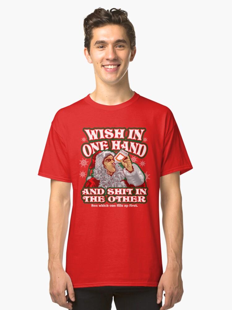 Bad Santa Classic T-Shirt Front