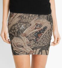 Mouths to Feed Mini Skirt