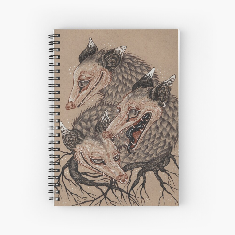 Mouths to Feed Spiral Notebook