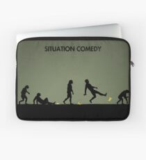 99 Steps of Progress - Situation comedy Laptop Sleeve