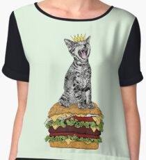 Cat Burger Chiffon Top