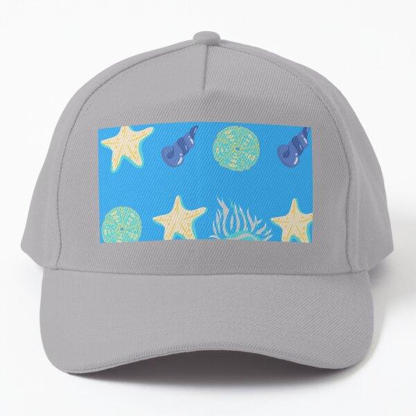 Sea Shells And Sea Urchins Designs For Marine Life Lovers Baseball Cap