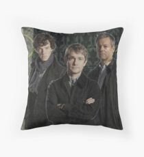 The Boys of Baker Street Throw Pillow