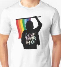 Love Trumps Hate 2 Unisex T-Shirt