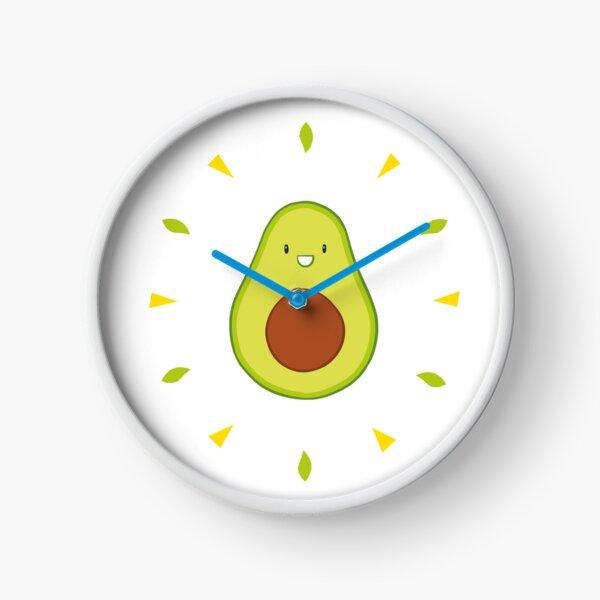 Shiny Avocado Horloge