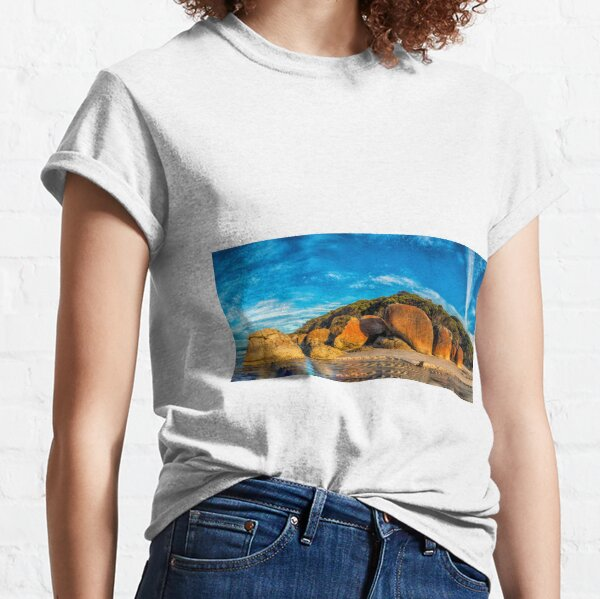 Squeaky Beach Panorama Classic T-Shirt