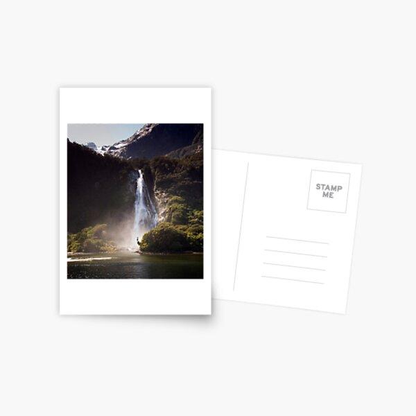 Bowen Falls, Milford Sound Postcard