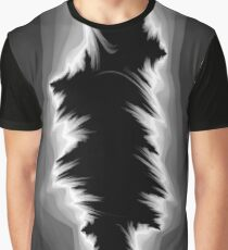 Gray and black fractals Graphic T-Shirt