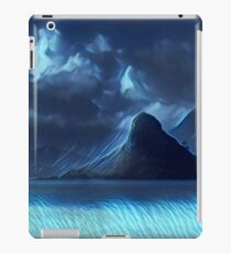 Abstract landscape,digital art,contemporary art,colorful iPad Case/Skin