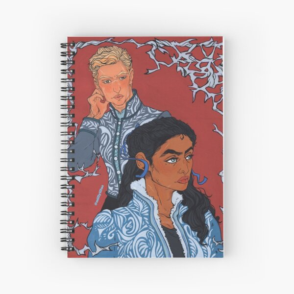 The Blue Ribbon Spiral Notebook