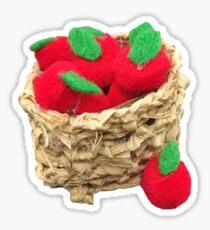 Pom Pom Apples Sticker