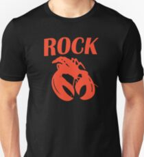 B52 Rock Lobster Retro Black T-shirt Sz S M L XL Slim Fit T-Shirt