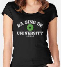 Ba Sing Se University  Women's Fitted Scoop T-Shirt