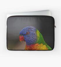 Rainbow Lorikeet portrait Laptop Sleeve
