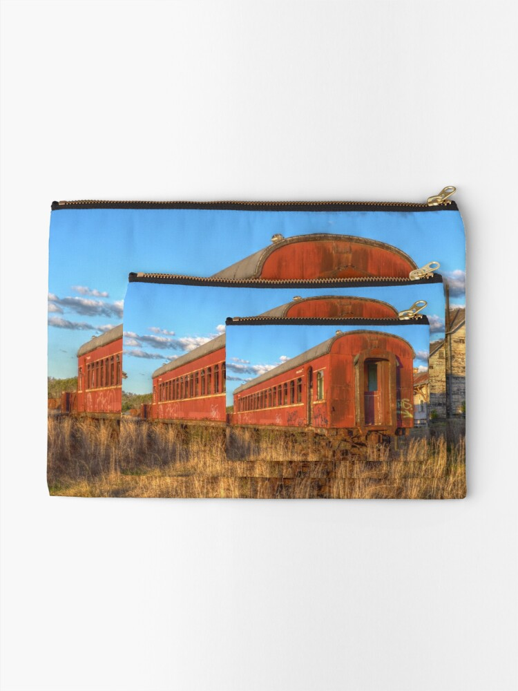 Alternate view of Off the rails Zipper Pouch