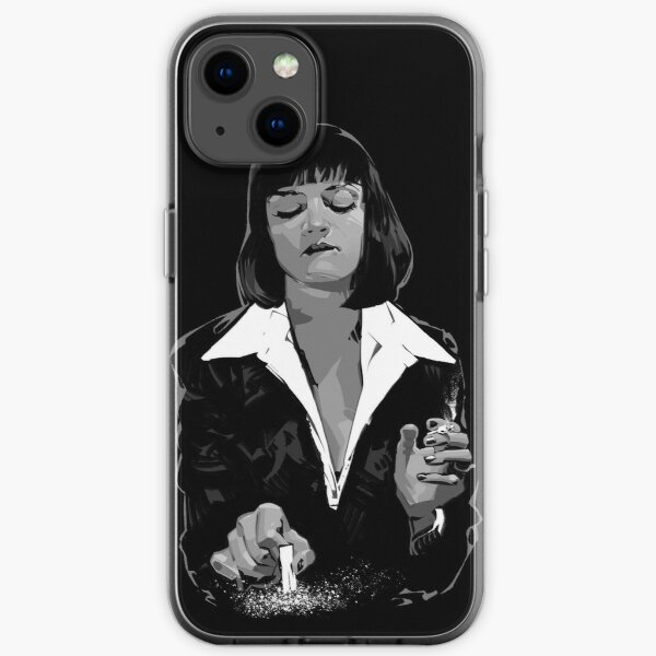 Mia Wallace iPhone Soft Case
