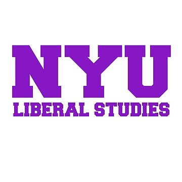 NYU Liberal Studies de sorasicha
