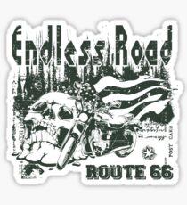 Endless Road - Motorcycle Sticker Sticker