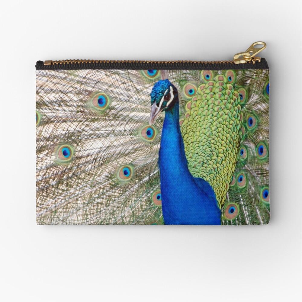 Peacock - Show Off Zipper Pouch