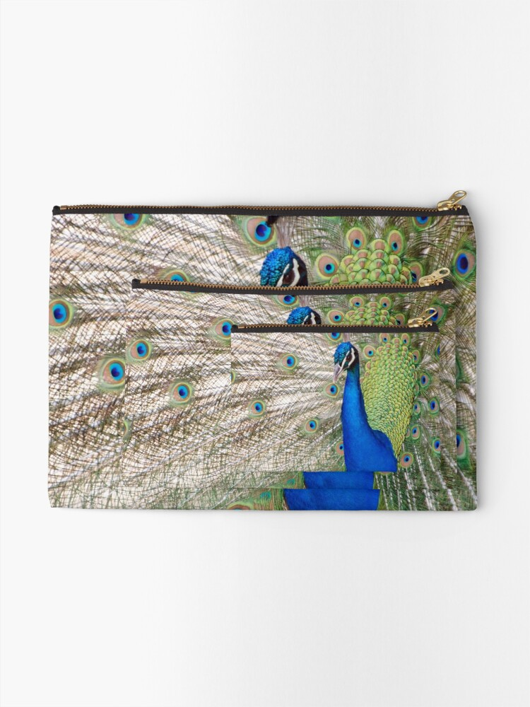 Alternate view of Peacock - Show Off Zipper Pouch