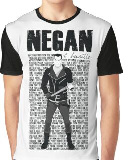 Negan and Lucille Graphic T-Shirt