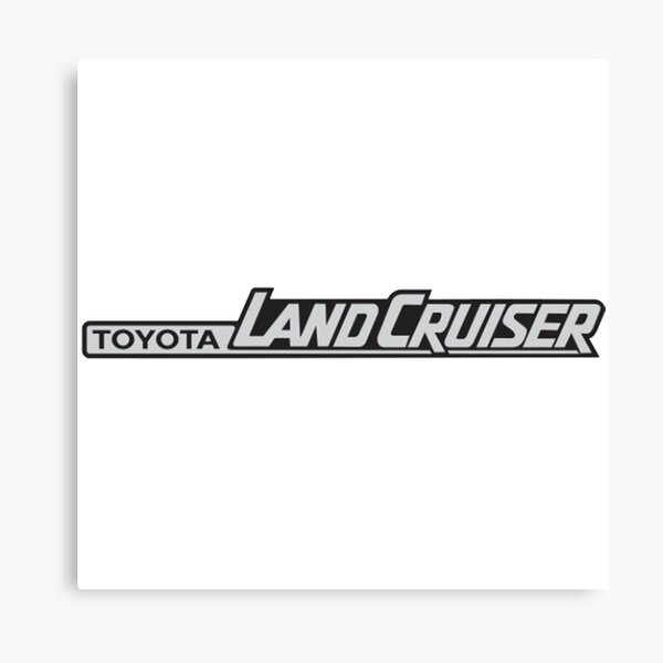 Toyota Landcruiser Logo Canvas Print