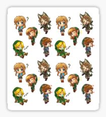 MiniChibi Zelda Sticker Set Sticker