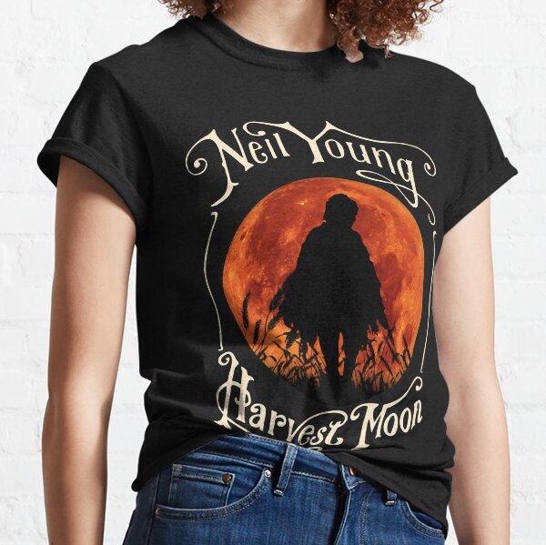 Vintage Rock Retro Harvest Moon In Night Gift Hallowen Essential T-Shirt Classic T-Shirt
