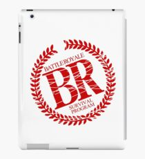 Battle Royale Survival Program Japanese Horror Movie T shirt iPad Case/Skin