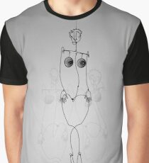 Human Form Graphic T-Shirt