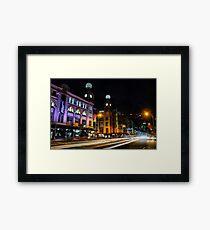 Broadway, Sydney Framed Print
