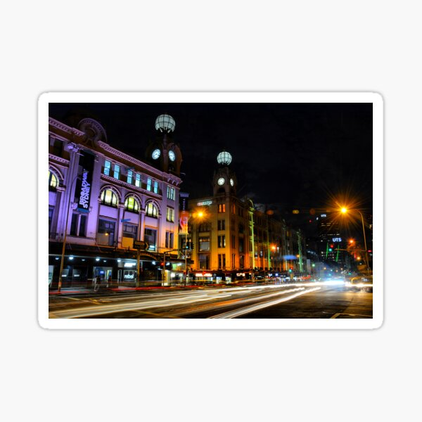 Broadway, Sydney Sticker