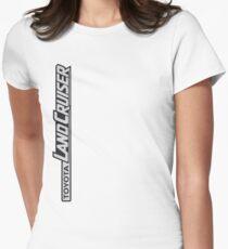 Landcruiser Logo Sideways Women's Fitted T-Shirt