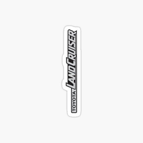 Landcruiser Logo Sideways Sticker