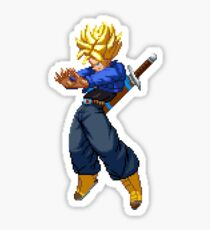 Super Saiyan Trunks Sticker
