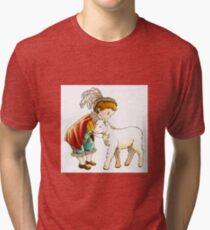 Prince Richard and his New Friend Tri-blend T-Shirt