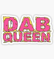 Dab Queen Sticker Sticker