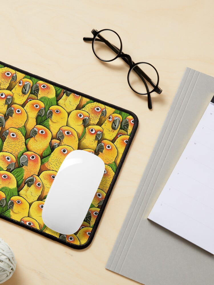 Alternate view of Jenday Conures Mouse Pad