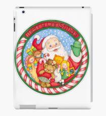 Merry Christmas Santa and Toys iPad Case/Skin