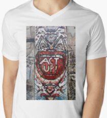 ACT UP!! Men's V-Neck T-Shirt