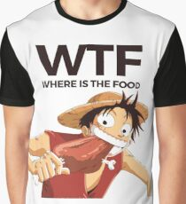 WTF Luffy Graphic T-Shirt
