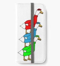 Another Quality Duck Stack- without words! iPhone Wallet/Case/Skin