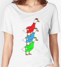 Another Quality Duck Stack- without words! Women's Relaxed Fit T-Shirt