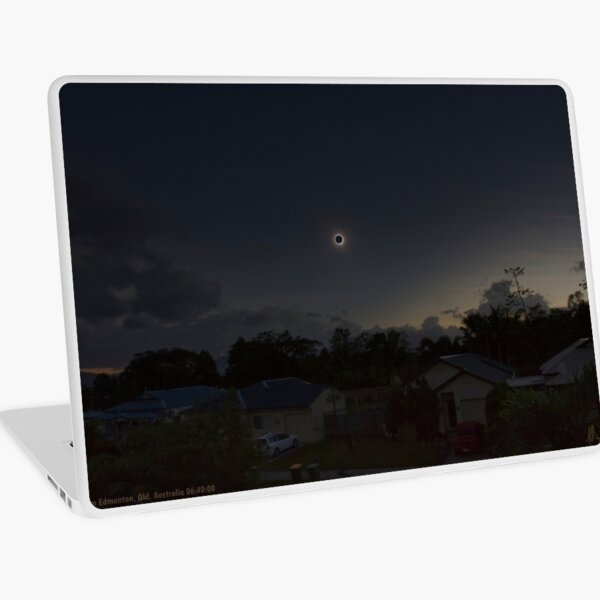 Cairns Total Solar Eclipse 14-11-2012 Laptop Skin